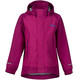Bergans Knatten Jacket Kids Hot Pink/Cerise/Light Winter Sky